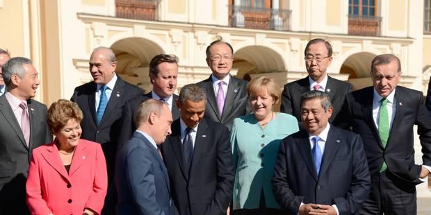 """Syrie: 11 pays du G20 appellent à une """"réponse internationale forte"""" - La Libre"""