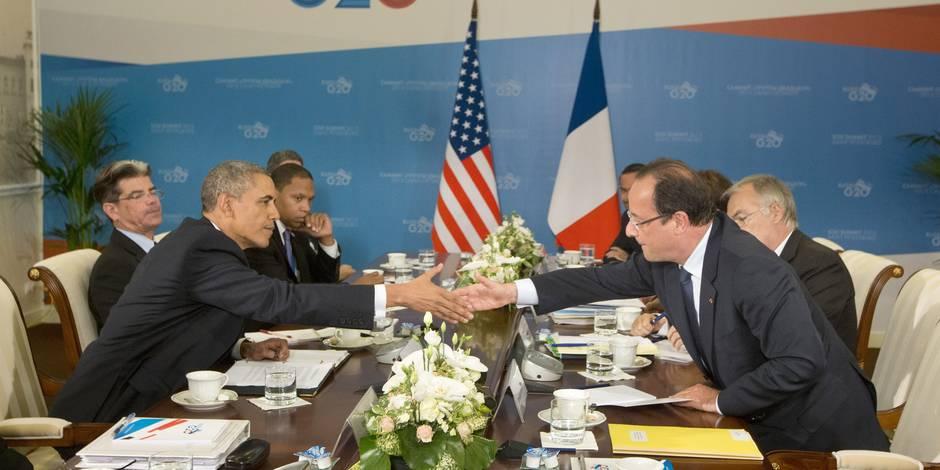Syrie: Washington et Paris notent un soutien croissant à des frappes