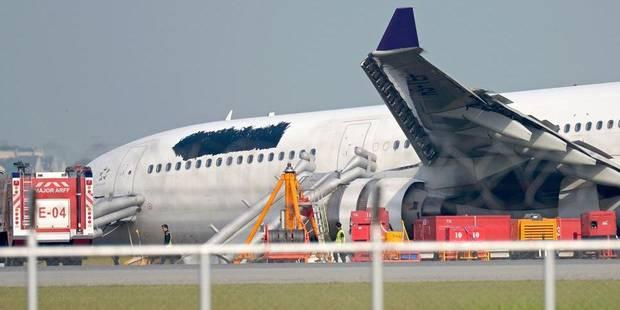 Crash d'avion à Bangkok: la compagnie fait noircir le logo sur l'appareil - La Libre