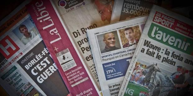 Un vent de raison souffle sur la presse - La Libre