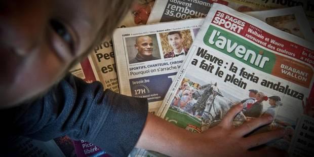 Est-ce le rôle de Tecteo d'investir dans la presse écrite ? - La Libre