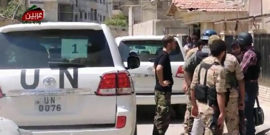 """L'ONU dénonce des """"crimes contre l'humanité"""" et des """"crimes de guerre"""" en Syrie"""