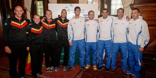 Coupe Davis: le match d'ouverture Belgique - Israël opposera Steve Darcis à Dudi Sela - La Libre