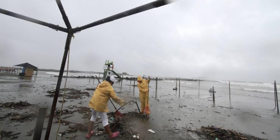 Mexique: l'ouragan Ingrid provoque des pluies torrentielles