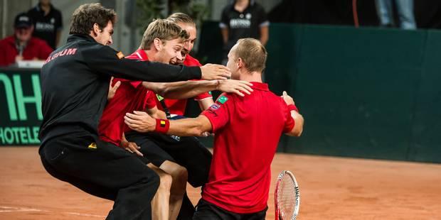 Coupe Davis: la Belgique héritera d'une tête de série mercredi - La Libre