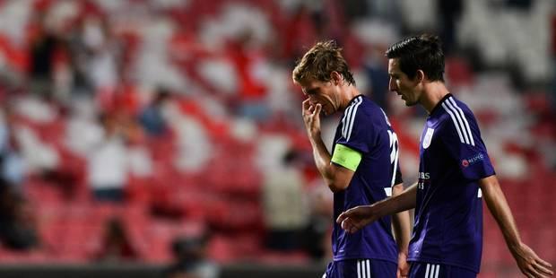 C1: mauvaise entrée en matière pour Anderlecht à Benfica (2-0) - La Libre