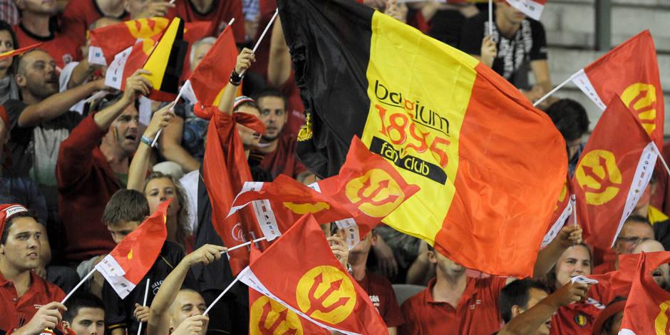 Brussels Airport s'inquiète d'un défi lancé par les supporters des Diables Rouges