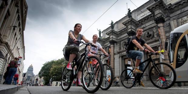 Dimanche sans voiture: record d'interventions d'ambulances - La Libre