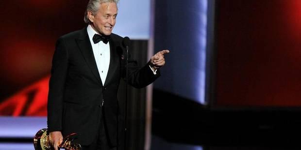 Emmy Awards: Le discours à double sens de Michael Douglas - La Libre