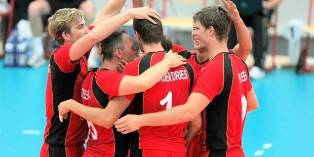 Euro volley: la Belgique éliminée en quarts par la Serbie - La Libre