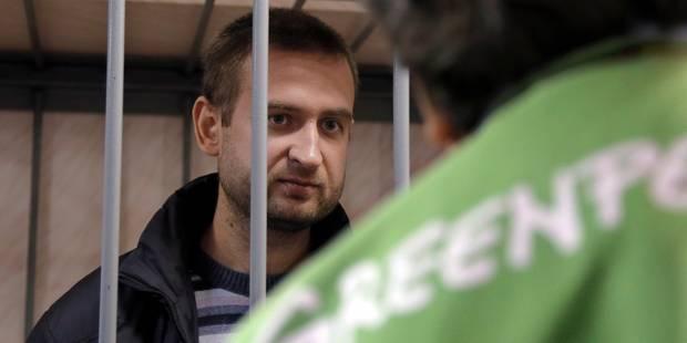 Greenpeace: 26 étrangers et 4 Russes placés en détention en Russie - La Libre