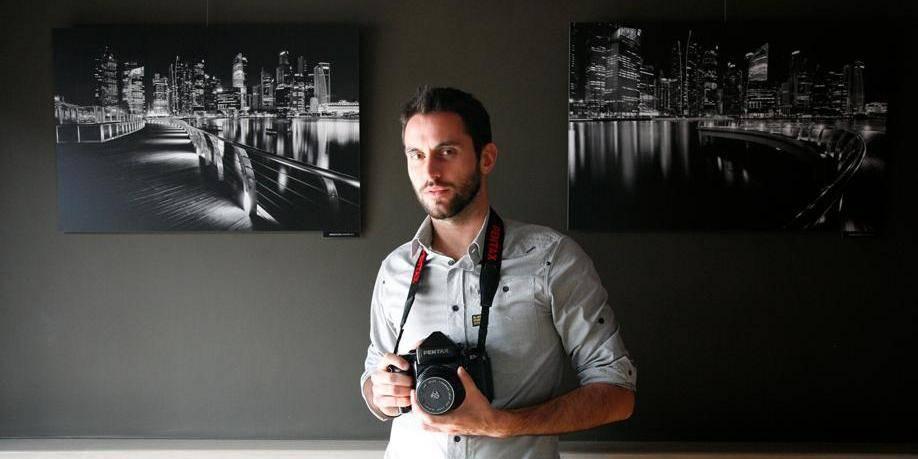 Gros plan sur un photographe tournaisien de talent