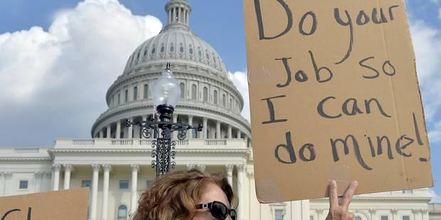 """Obama est """"exaspéré"""" par la crise budgétaire avec le Congrès - La Libre"""