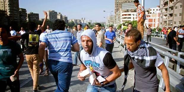 Egypte: gaz lacrymogènes contre des manifestants, 1 mort - La Libre