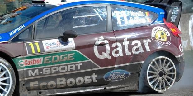 Rallye de France: Neuville crève et passe de la 1ère à la 5ème place - La Libre