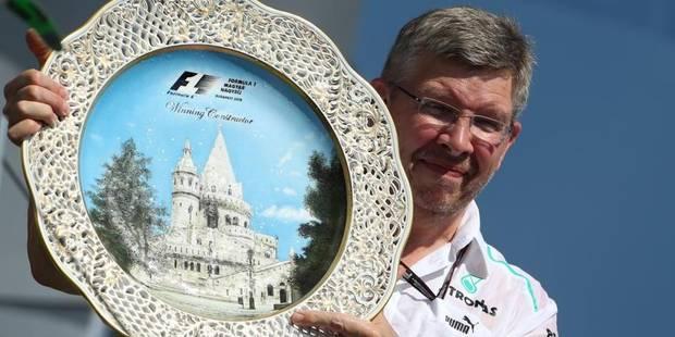 Brawn quittera Mercedes en fin de saison - La Libre