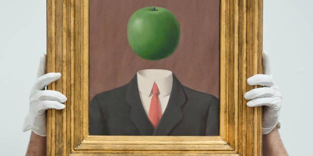 Une oeuvre perdue de Magritte refait surface - La Libre