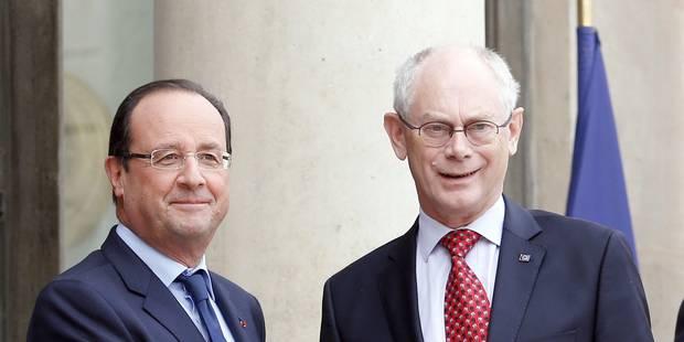 """Van Rompuy : les élections européennes seront """"extrêmement difficiles"""" - La Libre"""