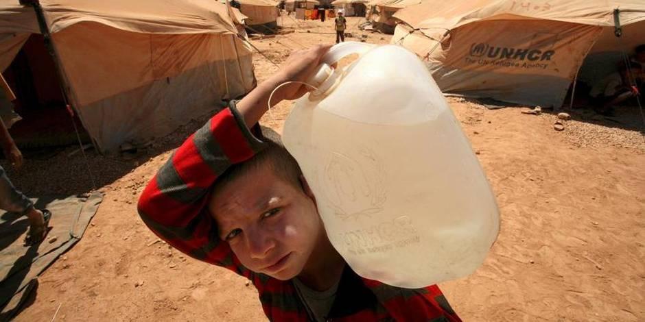 """La Jordanie """"sur les rails"""" malgré l'afflux de réfugiés syriens"""