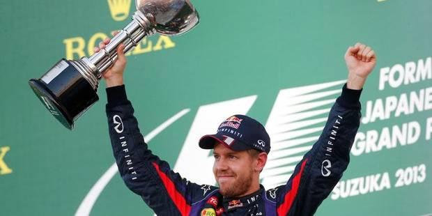 GP du Japon: la victoire mais pas encore le titre pour Vettel - La Libre