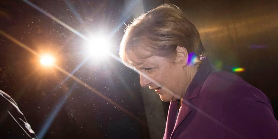 Merkel penche vers la grande coalition