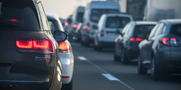 Embouteillages monstres sur le ring extérieur de Bruxelles - La Libre