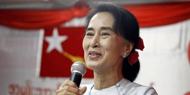 Aung San Suu Kyi en Belgique ce week-end - La Libre