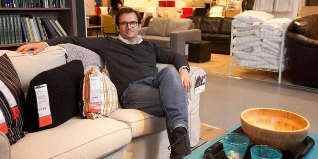 Olivier Baraille, l'homme à la tête d'Ikea Belgique - La Libre