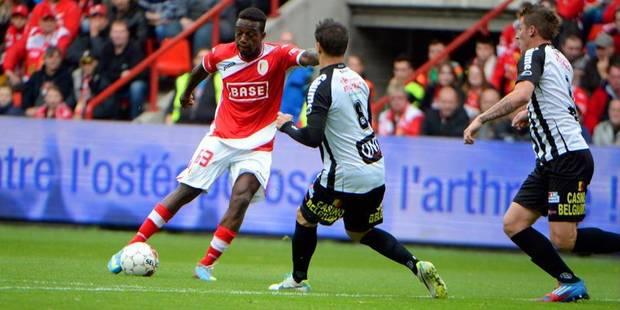 Le Standard partage à Charleroi (2-2), Bruges trébuche à Courtrai (4-1) - La Libre