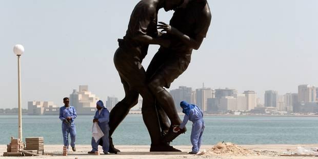 Les petites mains, liées, du Qatar - La Libre