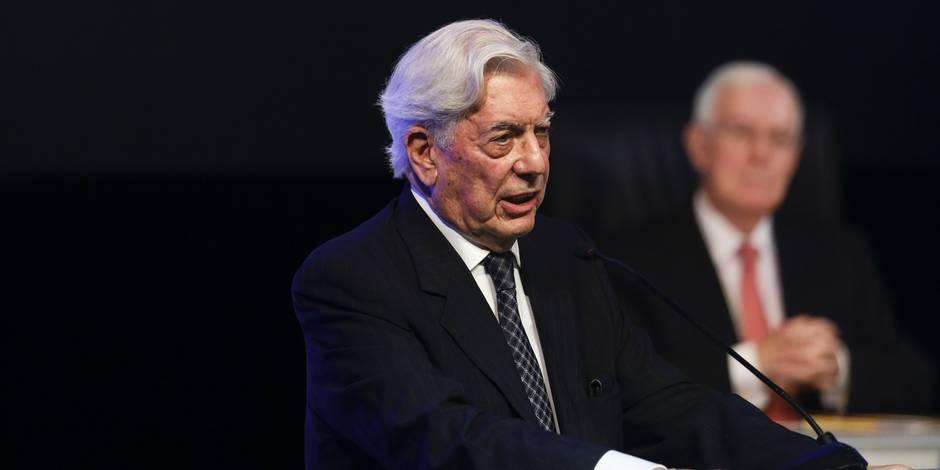 L'auteur Vargas Llosa craint que le déclin du livre ait raison de l'esprit critique