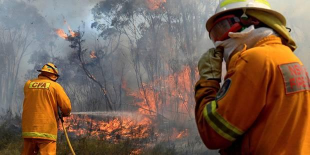 Australie: pour maîtriser les flammes, les pompiers fusionnent deux énormes incendies - La Libre