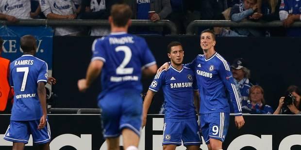 Ligue des champions: Torres et Hazard guident Chelsea à la victoire - La Libre