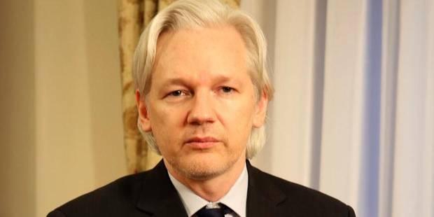 """Assange: """"Ma famille est menacée de mort"""" - La Libre"""