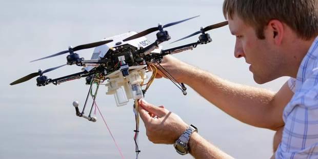 Pas de drones anti-vol de câbles en Belgique - La Libre