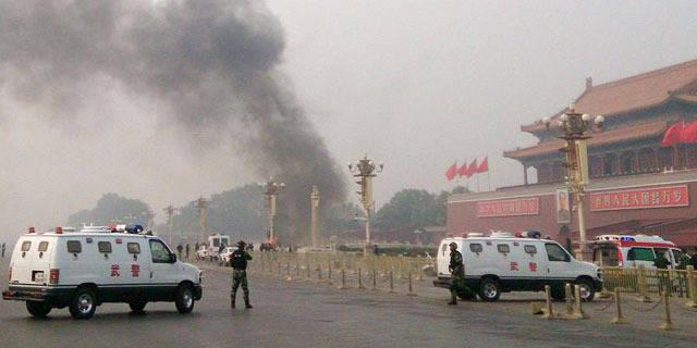 5 morts et 38 blessés place Tiananmen à Pékin