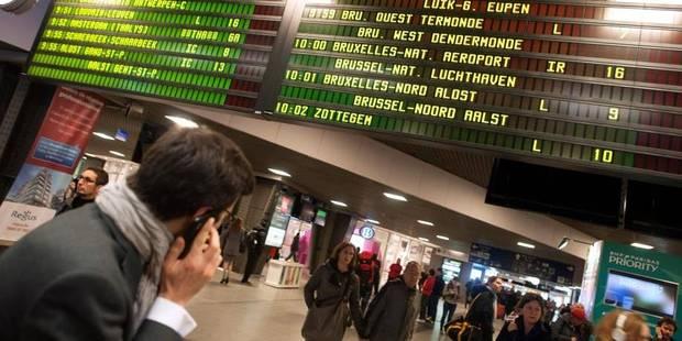 Grève SNCB: quelques suppressions de train possibles demain matin - La Libre