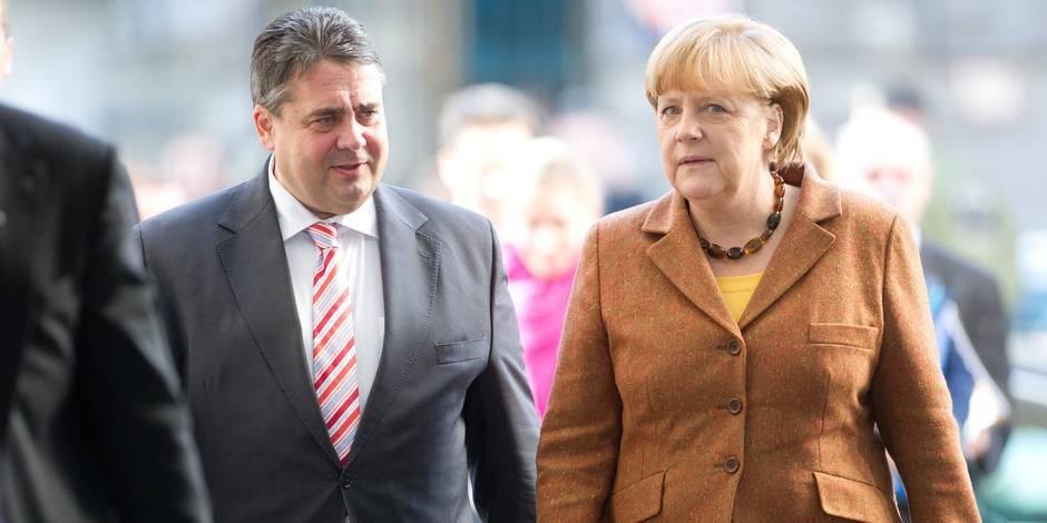Allemagne: le chef de file du SPD entrerait au gouvernement