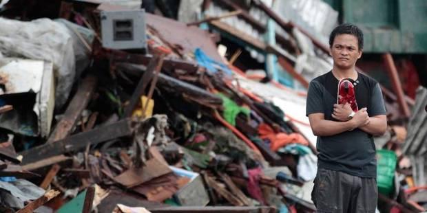 Typhon aux Philippines : la Croix-Rouge de Belgique appelle à l'aide - La Libre
