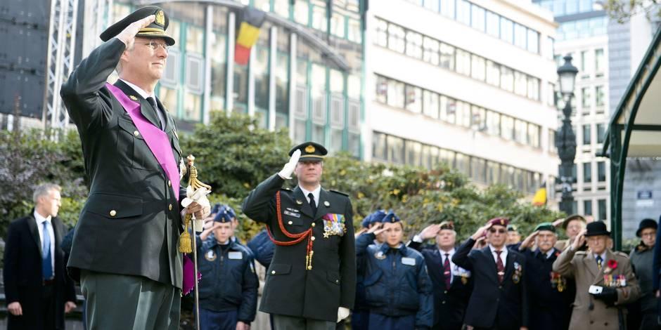 500 personnes ont rendu hommage au soldat inconnu à Bruxelles