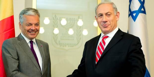 Accord conclu pour renforcer les relations entre la Belgique et Israël - La Libre