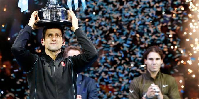Novak Djokovic remporte le Masters de Londres (6-3 / 6-4)