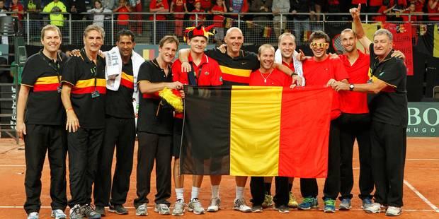 Coupe Davis: le Kazakhstan accueille la Belgique sur surface dure à Astana - La Libre