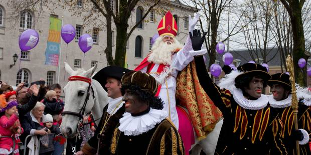 """Saint-Nicolas et """"Zwarte Piet"""" acclamés à Amsterdam - La Libre"""