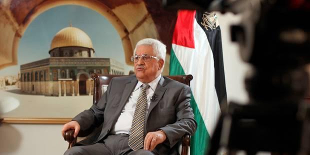 Pour Abbas, les négociations avec Israël iront au bout des 9 mois prévus - La Libre