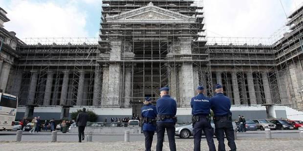 Alerte à la bombe au Palais de Justice - La Libre