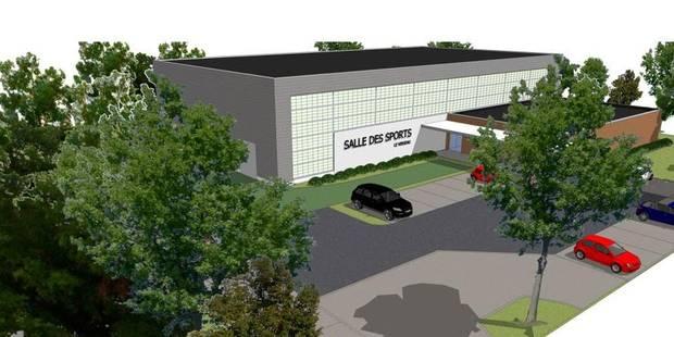 Un nouveau hall des sports pour l'école du Verseau - La Libre
