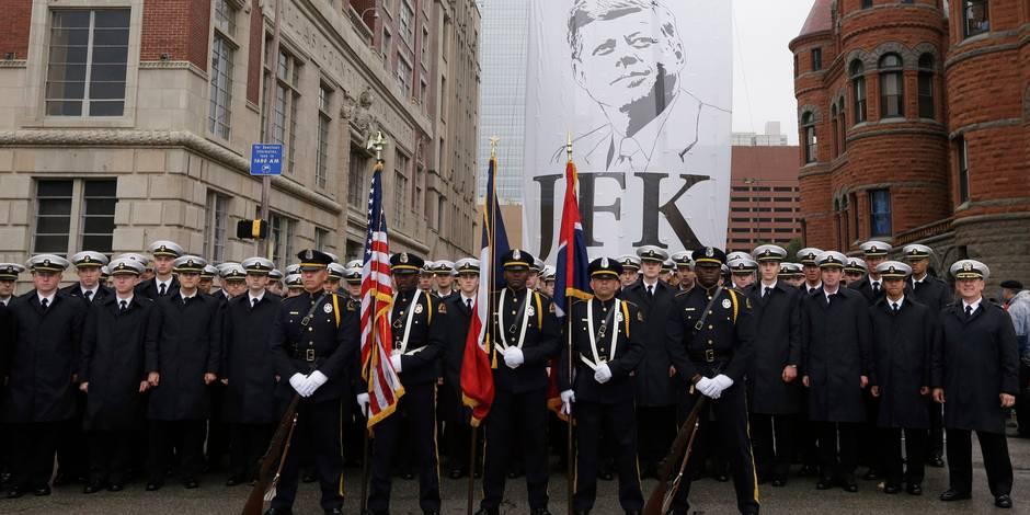 Dallas se fige, 50 ans après l'assassinat de Kennedy