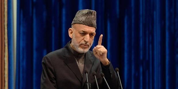 Afghanistan : Karzaï prêt à signer le traité de sécurité avec les USA - La Libre