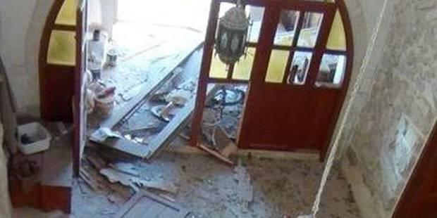 Syrie : un obus est tombé sur le monastère de Mère Agnès à Qara - La Libre